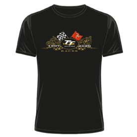 Isle Of Man TT Flags T-Shirt 2020